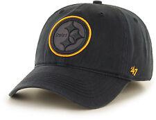 Pittsburgh Steelers 47 Brand Game Time Closer Cap Hat Fit Flex Sawyer M/L