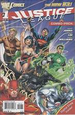 JUSTICE LEAGUE 1D COMBO VARIANT SEALED...NM-...2011...1st Print...VHTF Bargain!