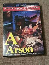 A is for Arson the Alphabet Murder Puzzle Series #7101