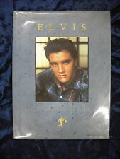 ELVIS : A TRIBUTE TO HIS LIFE by SUSAN DOLL  H/B D/W  Pub. OMNIBUS PRESS  1990