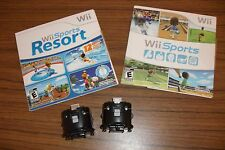 Wii Sports Resort & Wii Sports + 2 Motion Plus Adapter (Nintendo Wii)