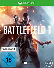 Battlefield 1 Microsoft Xbox One Uncut Disc Version (S Elite) Wie Neu