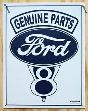 Ford Genuine Parts Tin Sign F Series Mustang Garage Man Cave V8 Crate Engine 28A
