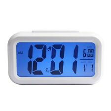 1UNIDAD LED reloj despertador Digital luz Control Luz de fondo Time + Calendario