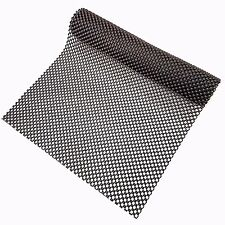 Black Non Slip Mat 120x30cm Roll - Multi Purpose - Anti Slip - Grip Mat Gripper