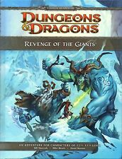 Dungeons & Dragons-D&D-REVENGE OF THE GIANTS-RPG-Roleplaying Game(HC)-new-rare