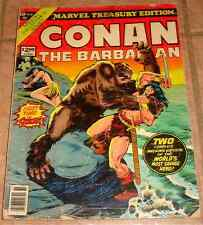 MARVEL TREASURY EDITION 19 CONAN THE BARBARIAN VG- RARE GIANT ROBERT E HOWARD