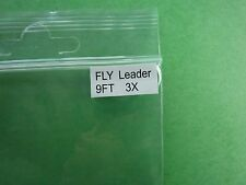 Tapered Fly Leader 9' 3x * Fly Fishing Leaders