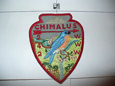 OA Chimalus Lodge 242,A-1,1950s Bluebird pp,57,67,275,540,Washington Green Cl,PA