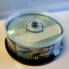 300 Philips Logo Music CD-R Blank Disc Media 80Min Digital Audio CDR DA