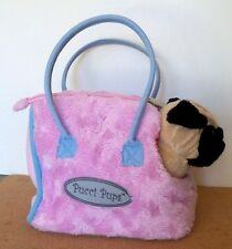PUCCI PUPS CARRIER - TOTE - PURSE only - PINK W/SOFT BLUE TRIM-  NO LOOSE PARTS.