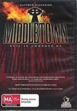 MIDDLETOWN * NEW SEALED DVD *  EVIL IS AMONGST US * MATTHEW MACFADYEN * ALL REG