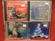 Mannheim Steamroller 4 Christmas CD Lot Fresh Aire Christmas SAMPLER Angel SONG
