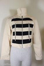 Vintage VERSUS Gianni VERSACE Cropped Cotton Jacket Lion Face Sz. 28 42 3 4 5