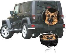 Schäferhund Hunde Motiv Auto Jeep Premium Reserveradhülle  Bezug in 3 Farben