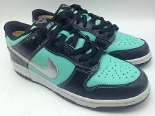 Nike Diamond SB Aqua/chrome Casual Collector luxury laced Dunk Men Shoes Size 10