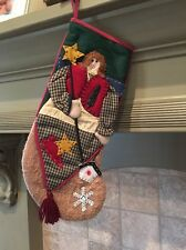 Angel 3-D Christmas Stocking
