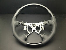 MIT Toyota SIENNA 2004-2009 black PIANO wood leather steering wheel-SPORTS