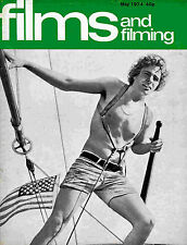 FILMS and FILMING May 1974 * Michael York * Veronica Lake * Stacey Keach