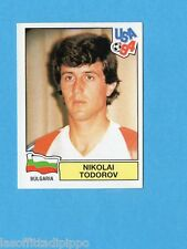 USA '94 - PANINI - Figurina n.291- TODOROV - BULGARIA -NEW