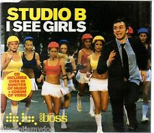 STUDIO B - I SEE GIRLS  (5 tracks plus CD-rom video, CD single)