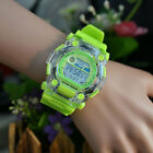 New Fashion Unisex Couple Digital LED Alarm Date Rubber Jelly Sport Wrist Watch
