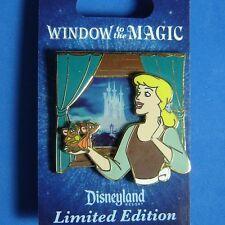 Cinderella Gus and Jaq Window to the Magic Disney Pin LE On Original Card