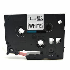 Compatible Label Tape TZ232 Tze232 12mm x 8m for Brother P-Touch Red On White