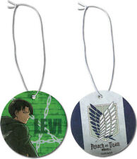 *NEW* Attack on Titan: Levi Air Freshener by GE