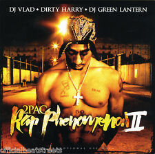 DJs Dirty Harry Vlad Green Lantern 2Pac Rap Phenomenon (Mix CD) Rare Mixtape CD