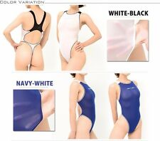 Japanese Swimsuit Realise Pettite monokini thong back