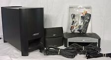 Bose Av 3-2-1 Home Theater System Complete w/ Speakers, Remote, Wires, Manual