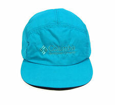 EARLY 90S VTG COLUMBIA SPORTSWEAR USA MADE 5 PANEL NYLON HAT OG CAP BUGABOO NYC