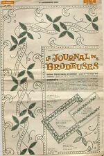 Le Journal des Brodeuses n°883 - 1968 - Ecussons pour serviettes - Nappes -