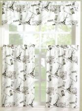 Paris Eiffel Tower No.918 Curtains Tier & Valance NWT