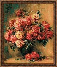 "Counted Cross Stitch Kit RIOLIS - ""Bouquet of Roses"""