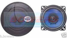 "RADIOMOBILE UNIVERSAL 4"" 100MM 10CM 70W 4OHM DUAL CONE CAR RADIO/STEREO SPEAKERS"