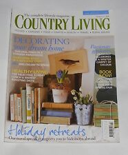 COUNTRY LIVING FEBRUARY 2011 - DECORATING YOUR DREAM HOME/HEALTHY LIVING