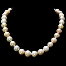 11-14mm Natural South Sea Pearl Necklace
