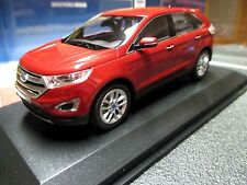 1/43 Norev Ford Edge Dealer Edition RUBY RED Titanium 2015 2016 2017