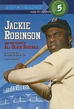 Jackie Robinson and the Story of All-Black Baseball (Step Into Reading-ExLibrary