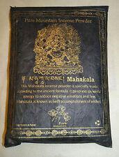 Mahakala Gold Edition 100% Natural Himalaya Incense Powder Pure Incense