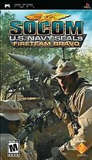 SOCOM: U.S. Navy SEALs Fireteam Bravo  (PlayStation Portable, 2005) *Brand New*