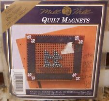 Mill Hill Quilt Magnets Cross Stitch Bead Kit - SAILBOAT Quilt Square - NIP
