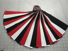 "Jelly Roll ""Black,White & Red"" Kona Cotton-21-2-1/2"" X 44"" Strips-Special Price"