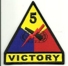 5th Armored Victory PATCH e