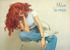 MILVA disco LP 33 giri MADE in ITALY La rossa 1980 STAMPA ITALIANA Enzo Jannacci