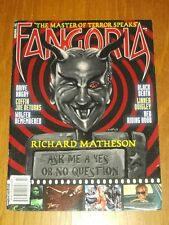 FANGORIA #301 RED RIDING HOOD BLACK DEATH DRIVE ANGRY WOLFEN REMEMBERED