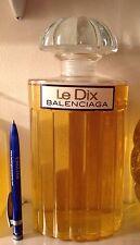 """RARE ET SUPERBE FLACON DE PARFUM FACTICE GÉANT """"LE DIX"""" de BALENCIAGA"""