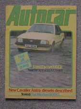 Autocar (19 June 1982) Fiat Mirafiori, AMG Mercedes 500SEC, Datsun Z, BMW 635CSi
